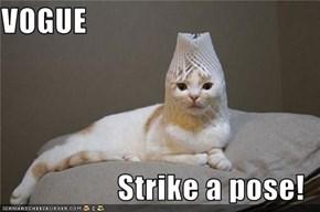 VOGUE  Strike a pose!