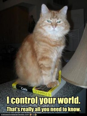 I control your world.