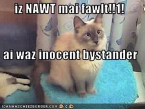 iz NAWT mai fawlt!!1!  ai waz inocent bystander