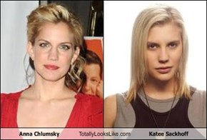 Anna Chlumsky Totally Looks Like Katee Sackhoff