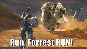 Run, Forrest RUN!