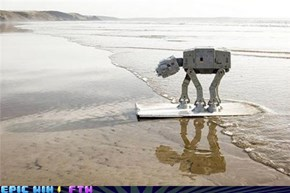 The Tiny AT-ATs Have Landed