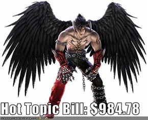 Hot Topic Bill: $984.78