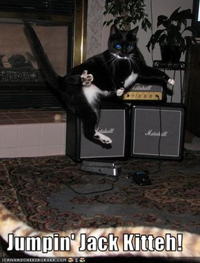 Jumpin' Jack Kitteh!