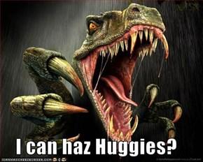 I can haz Huggies?