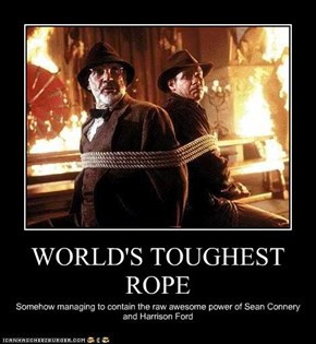 WORLD'S TOUGHEST ROPE