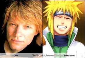 Jon Totally Looks Like Yondaime