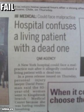 Hospital Fail