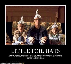 LITTLE FOIL HATS