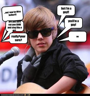...and  now for Miss beiber!!!