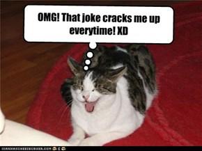 Funneh joke! :D