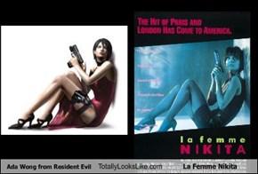 Ada Wong from Resident Evil Totally Looks Like La Femme Nikita