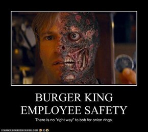 BURGER KING EMPLOYEE SAFETY