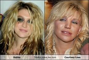 Ke$ha Totally Looks Like Courtney Love