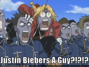 Justin Biebers A Guy?!?!?
