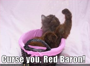 Curse you, Red Baron!