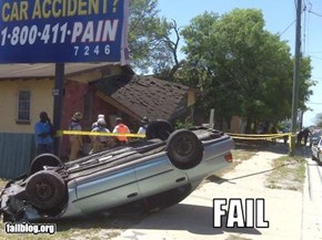 Car Accident Fail?