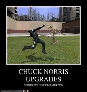 CHUCK NORRIS UPGRADES
