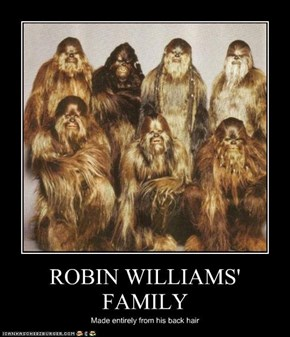 ROBIN WILLIAMS' FAMILY