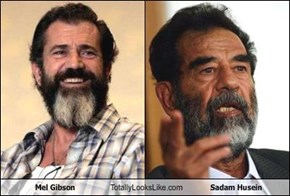 Mel Gibson Totally Looks Like Sadam Husein