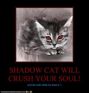 SHADOW CAT WILL CRUSH YOUR SOUL!