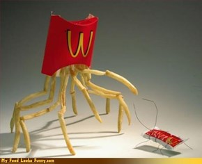 What are fries without ketchup?