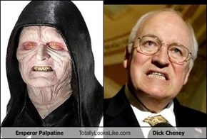 Emperor Palpatine Totally Looks Like Dick Cheney
