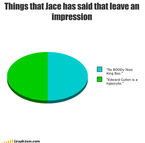 Things that Jace has said that leave an impression
