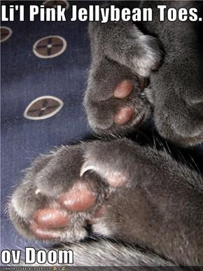 Li'l Pink Jellybean Toes...  ov Doom
