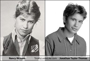 Nancy Mckeon Totally Looks Like Jonathan Taylor Thomas