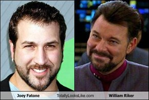 Joey Fatone Totally Looks Like William Riker