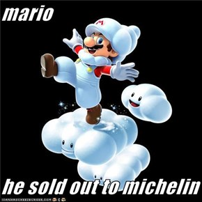 mario  he sold out to michelin