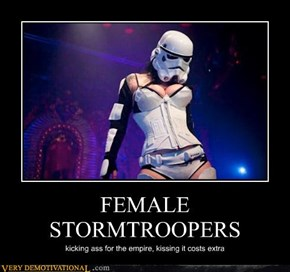 FEMALE STORMTROOPERS