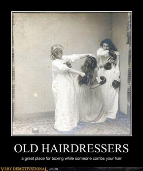OLD HAIRDRESSERS