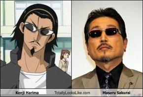 Kenji Harima Totally Looks Like Masaru Sakurai