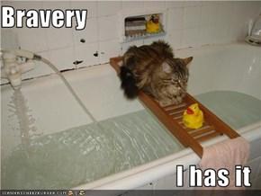 Bravery  I has it