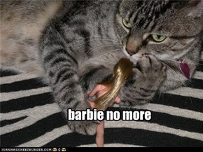 barbie no more