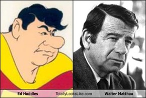 Ed Huddles Totally Looks Like Walter Matthau