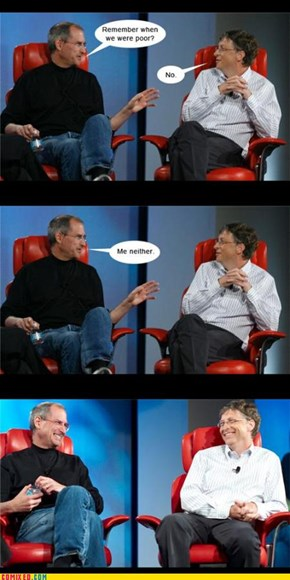 Jobs vs Gates