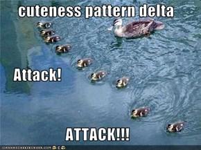 cuteness pattern delta     Attack! ATTACK!!!