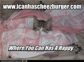 My I Can Has Cheez Burger Ad