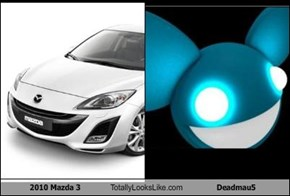 2010 Mazda 3 Totally Looks Like Deadmau5