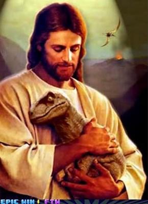 Jesus Loves All Creatures Even Raptors