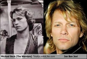 Michael Beck (The Warriors) Totally Looks Like Jon Bon Jovi
