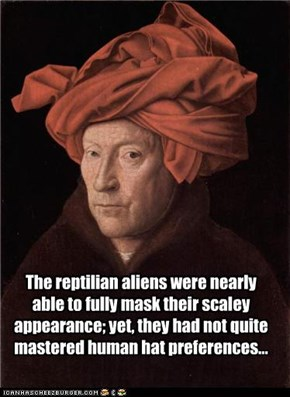 The reptilian aliens were nearly able...