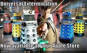 Universal Extermination  Now available at your Apple Store