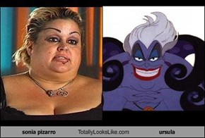 sonia pizarro Totally Looks Like ursula