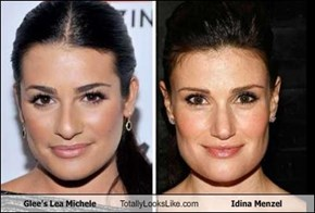 Glee's Lea Michele Totally Looks Like Idina Menzel