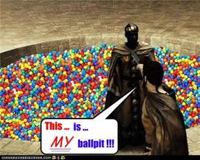Leonitus protects his mighty balls at any cost necessary.