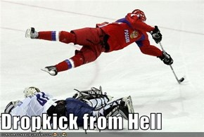 Dropkick from Hell